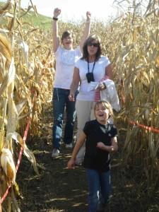 Hugli's 6 acre corn maze