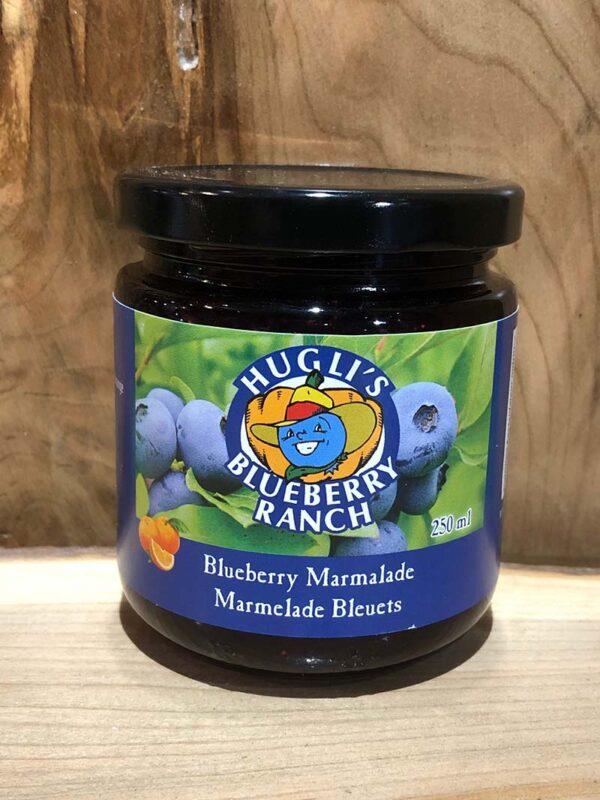 Hugli-BlueberryMarmalade-250ml