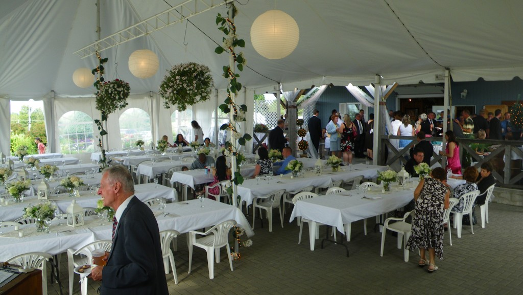 Weddings at Hugli's Blueberry Ranch in Pembroke.