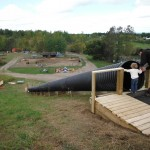 New 120 foot tunnel hill slide