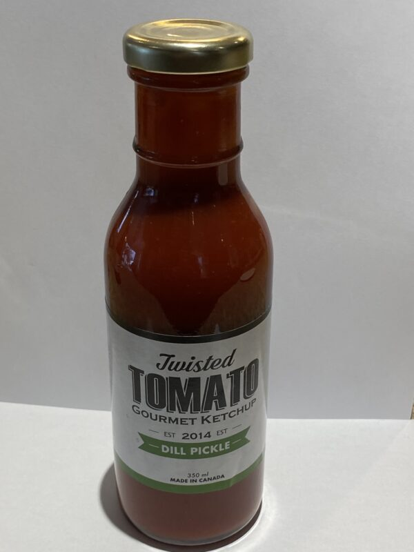 Twisted Tomato Dill Pickle Ketchup